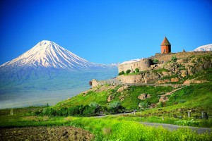 summer mount Ararat HD for desktop