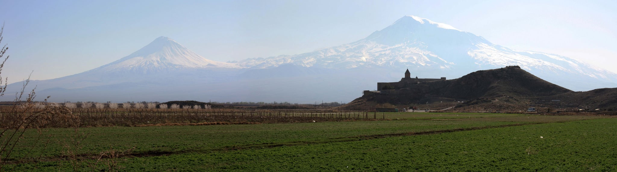 wide mount Ararat background