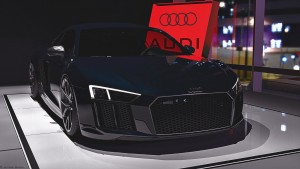 2015 Audi R8 V10 Plus dark blue pictures