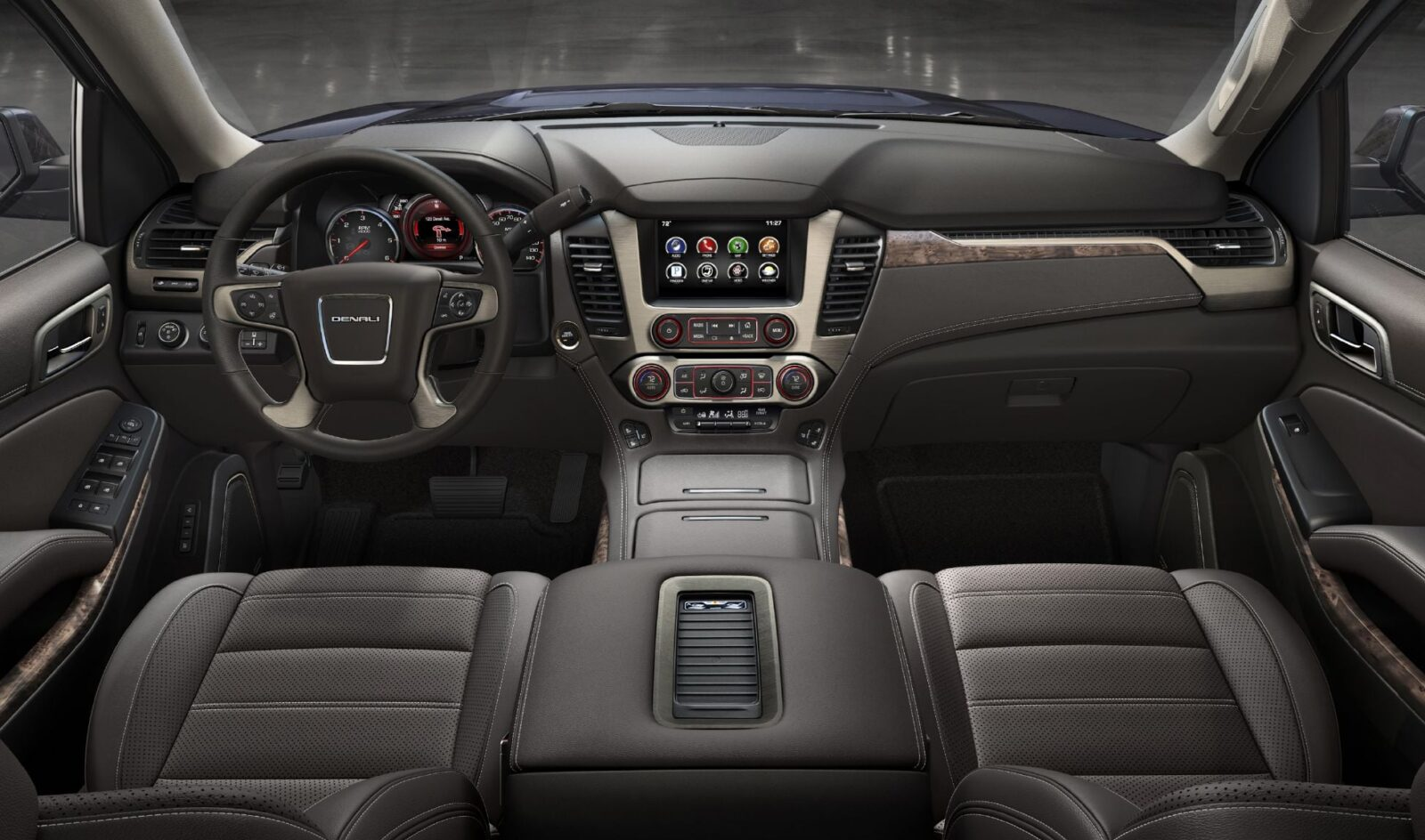 2016 Cadillac Escalade Interior >> 2016 GMC Yukon Denali wallpapers HD High Resolution