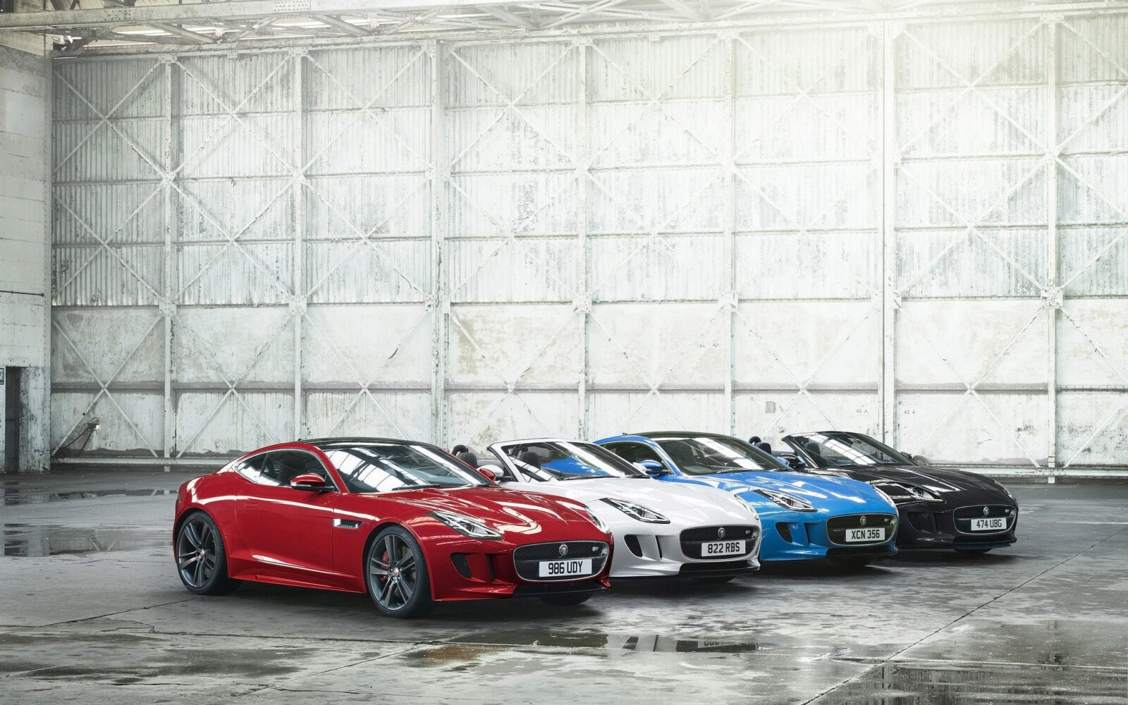 2016 Jaguar F Type colors wallpaper download