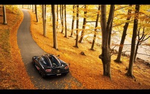 2016 Koenigsegg Agera RS autumn backgrounds