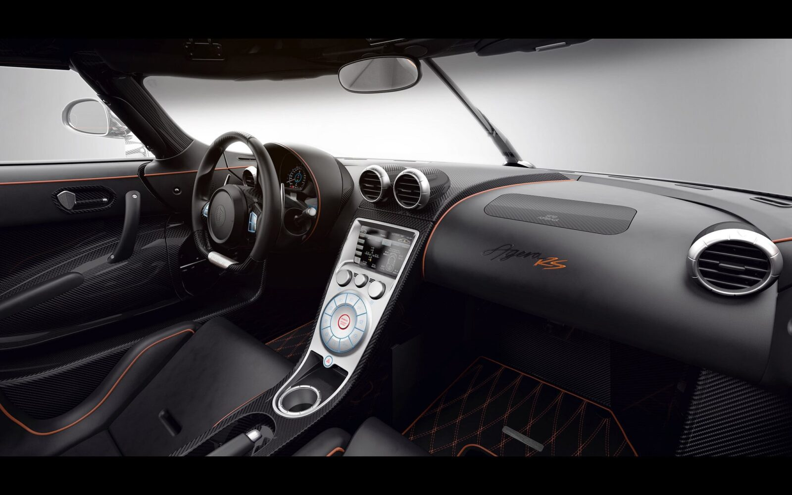 2016 Koenigsegg Agera RS interior wallpaper download