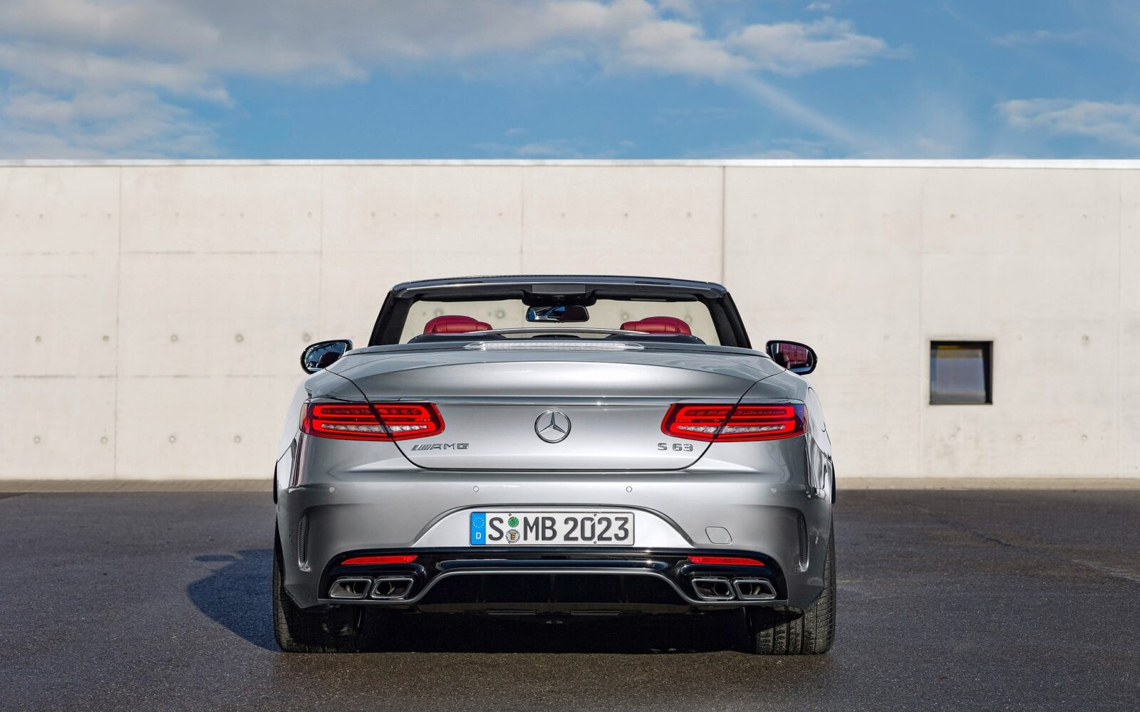 2016 Mercedes-AMG S63 cabriolet wallpapers