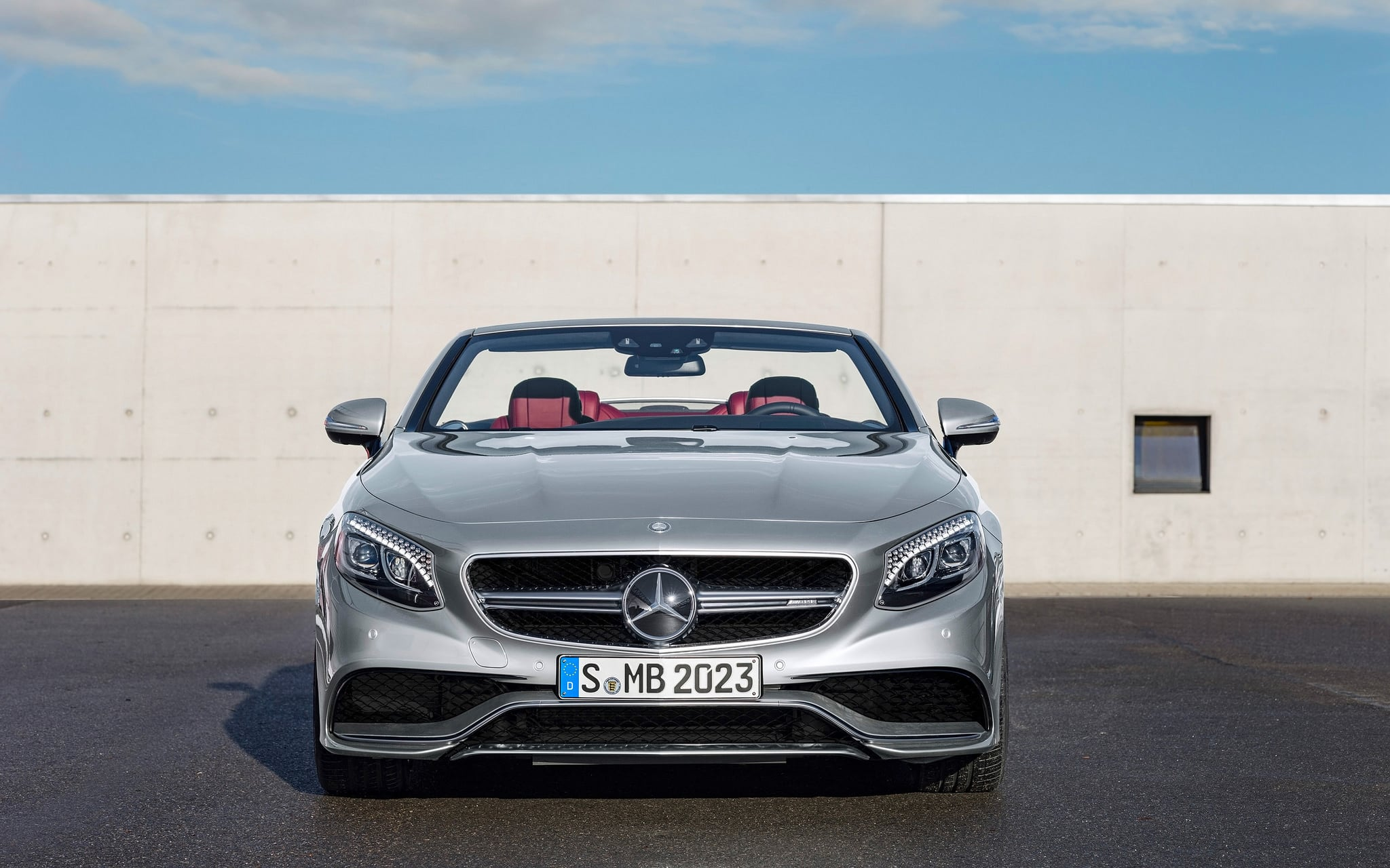 2016 Mercedes AMG S63 cabriolet wallpapers HD