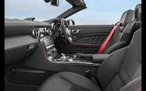 2016 Mercedes AMG SLC interior photo