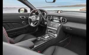 2016 Mercedes AMG SLC interior wallpaper download