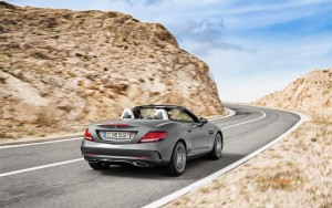 2016 Mercedes Benz SLC wallpaper download