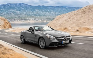 Image of 2016 Mercedes Benz SLC grey