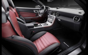 2016 Mercedes Benz SLC interior wallpaper 1080p