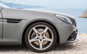 2016 Mercedes Benz SLC wheel desktop HD