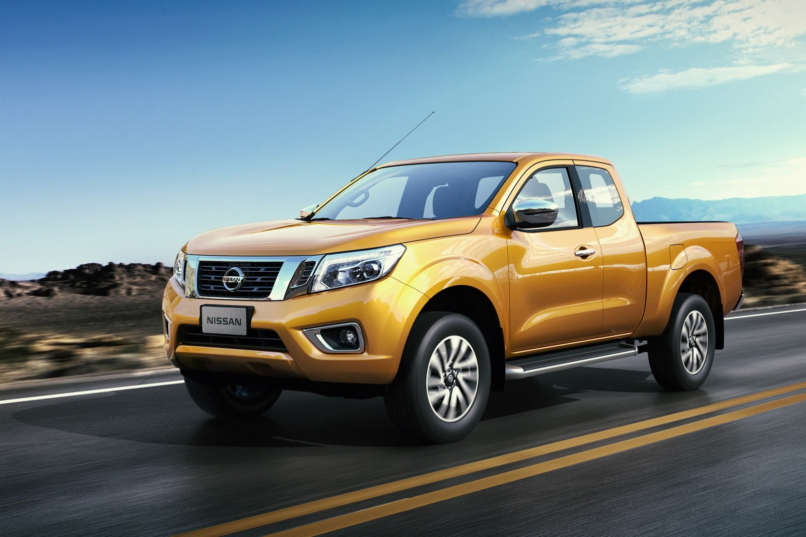 2016 Nissan Frontier Navara Wallpapers Hd