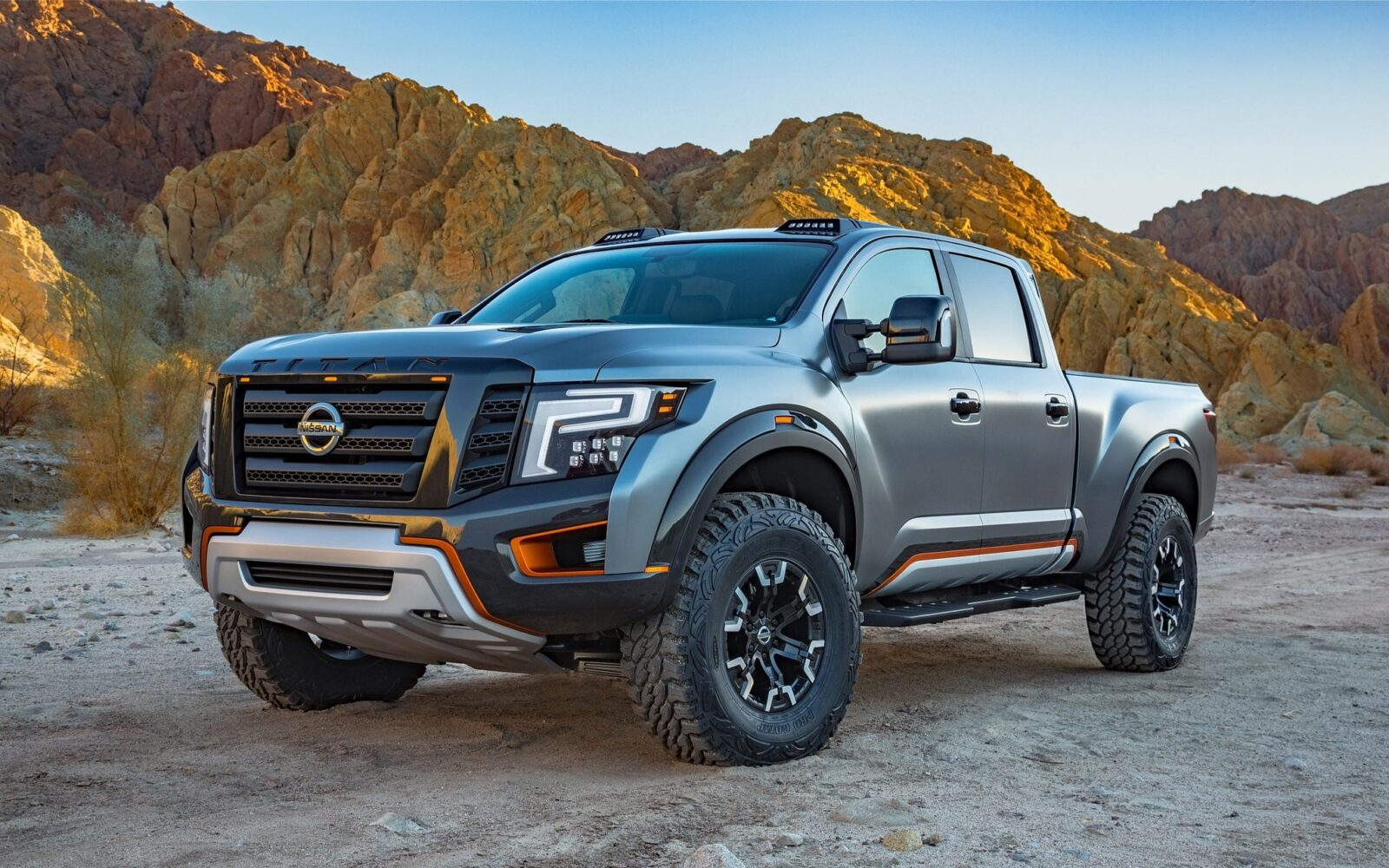 2016 Nissan Titan Warrior wallpapers HD free Download