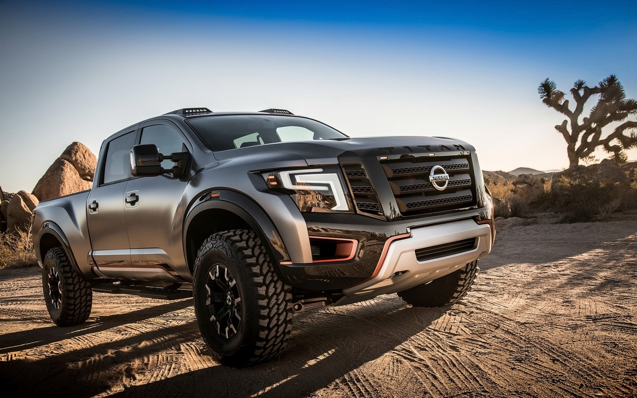 Image of 2016 Nissan Titan Warrior