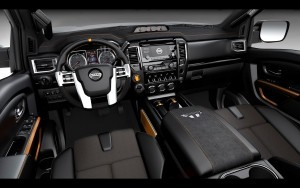 2016 Nissan Titan Warrior front panel HD pic for PC