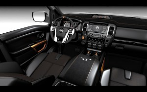 2016 Nissan Titan Warrior interior High Quality wallpapers