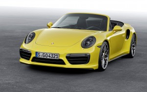 2016 Porsche 911 Turbo S Cabriolet wallpapers