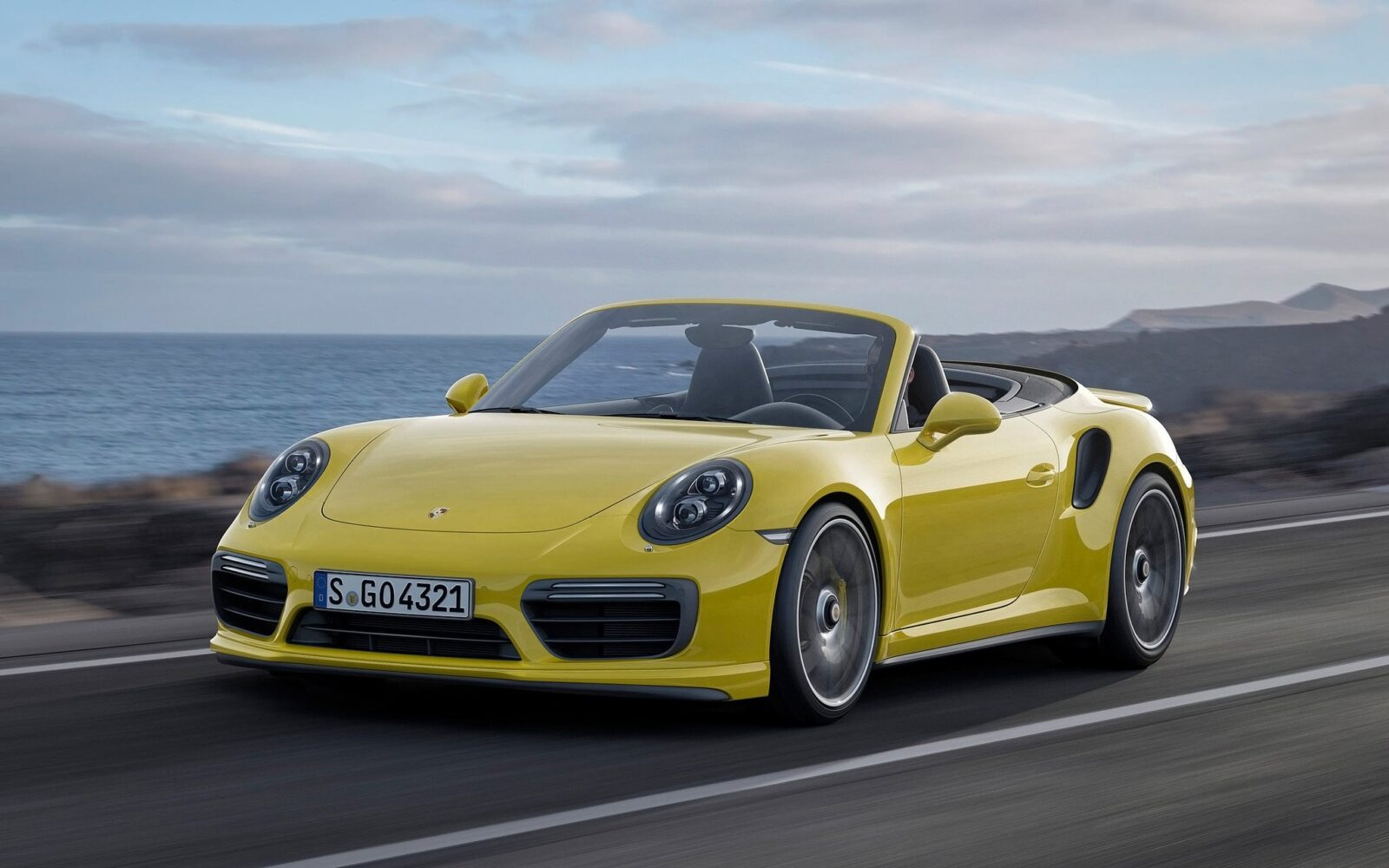 2016 Porsche 911 Turbo S Cabriolet Wallpapers Hd