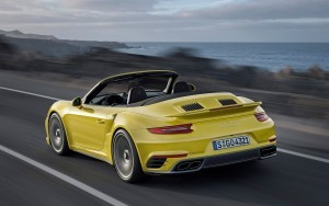 2016 Porsche 911 Turbo S Cabriolet HD wallpapers
