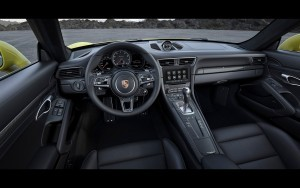 2016 Porsche 911 Turbo S Cabriolet interior HD pic for PC