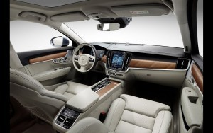 2016 Volvo S90 interior pictures