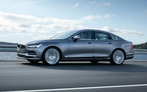 Wallpaper of 2016 Volvo S90 speed