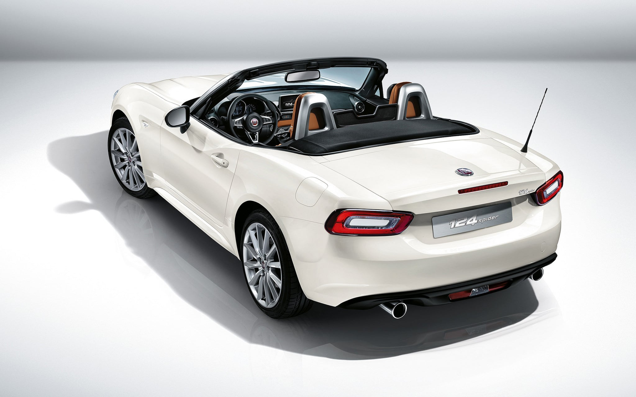 2017 fiat 124 spider wallpapers hd high quality. Black Bedroom Furniture Sets. Home Design Ideas