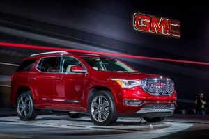 2017 GMC Acadia backgrounds