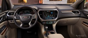2017 GMC Acadia interior photo