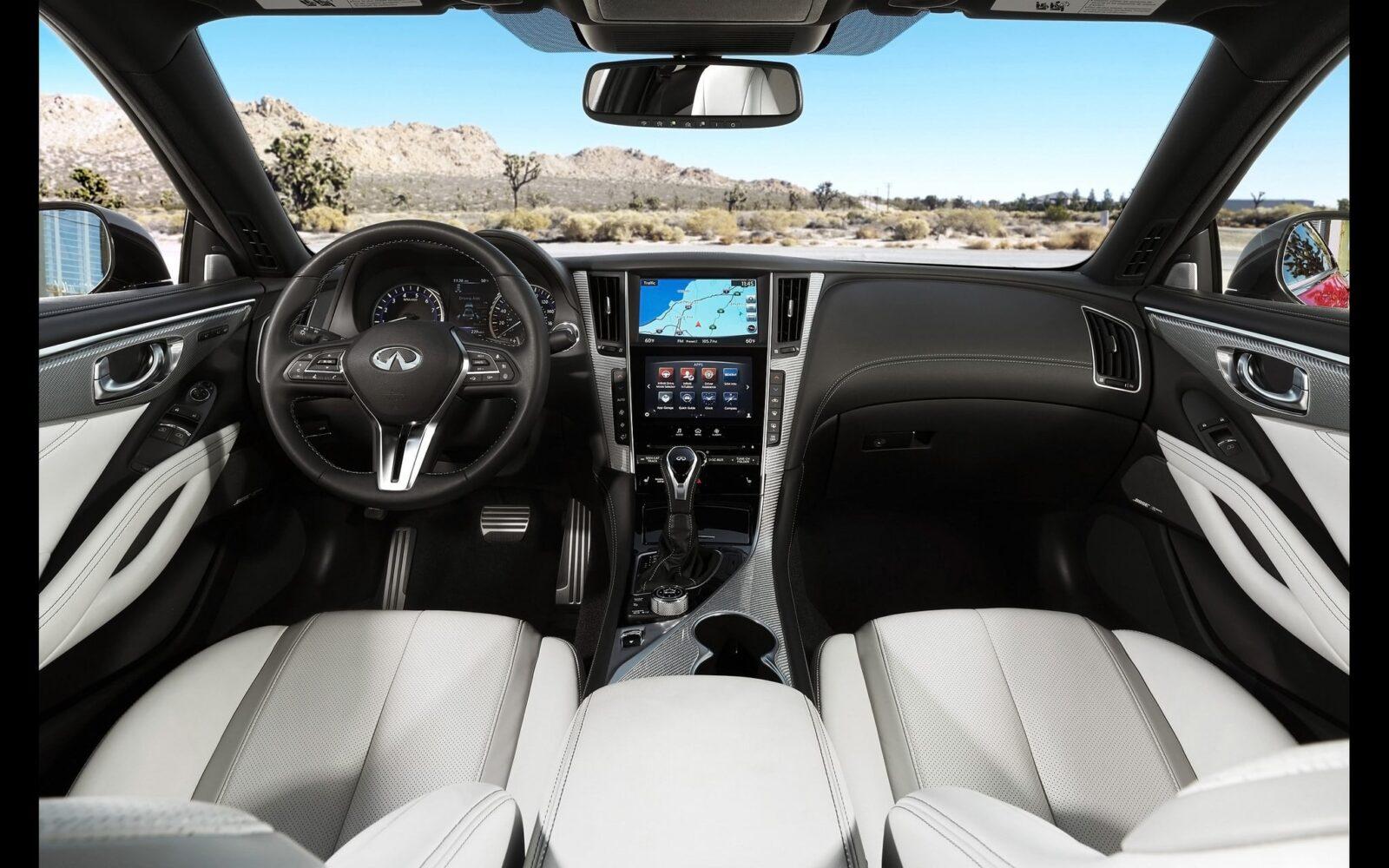2017 Infiniti Q60s interior High Quality wallpapers