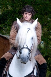 Aneurin Barnard on horse wallpaper download