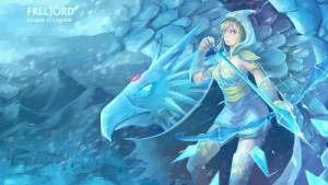 Wallpaper of Ashe League of Legends