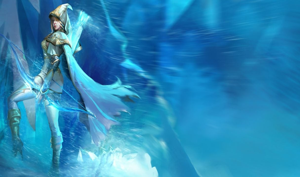 Ashe League of Legends HD wallpapers