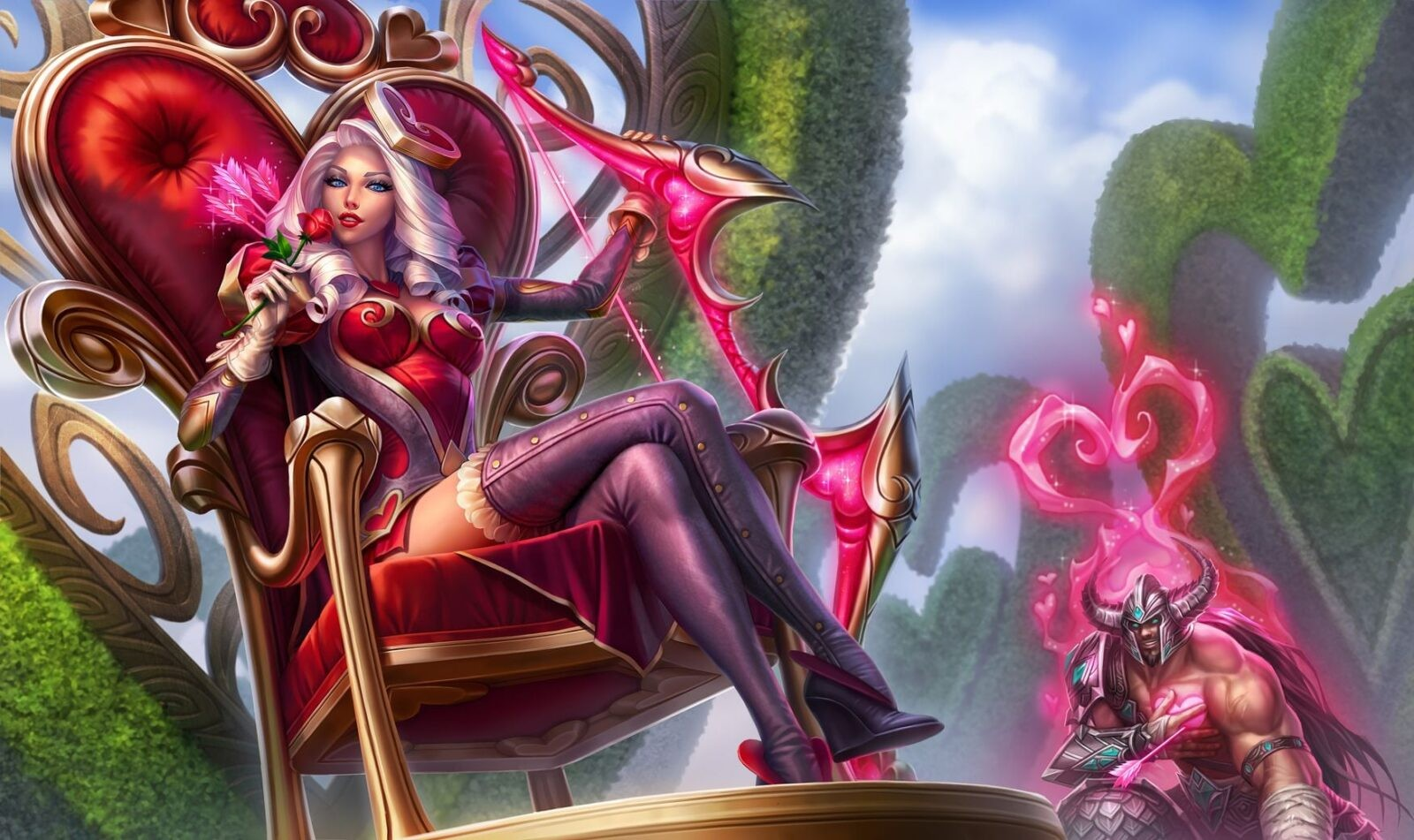 21+ Ashe League of Legends wallpapers HD free Download