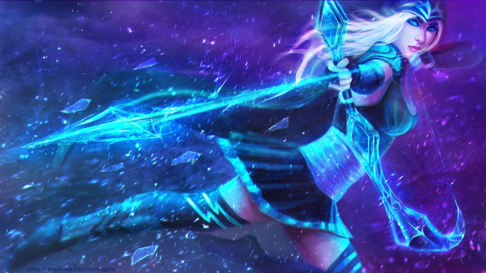 21 Ashe League Of Legends Wallpapers Hd Free Download