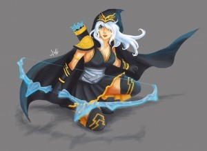 Ashe League of Legends 1920x1080 wallpaper