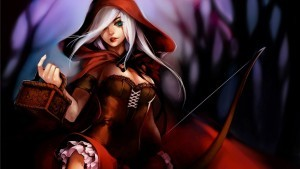 Ashe League of Legends anime HD pic