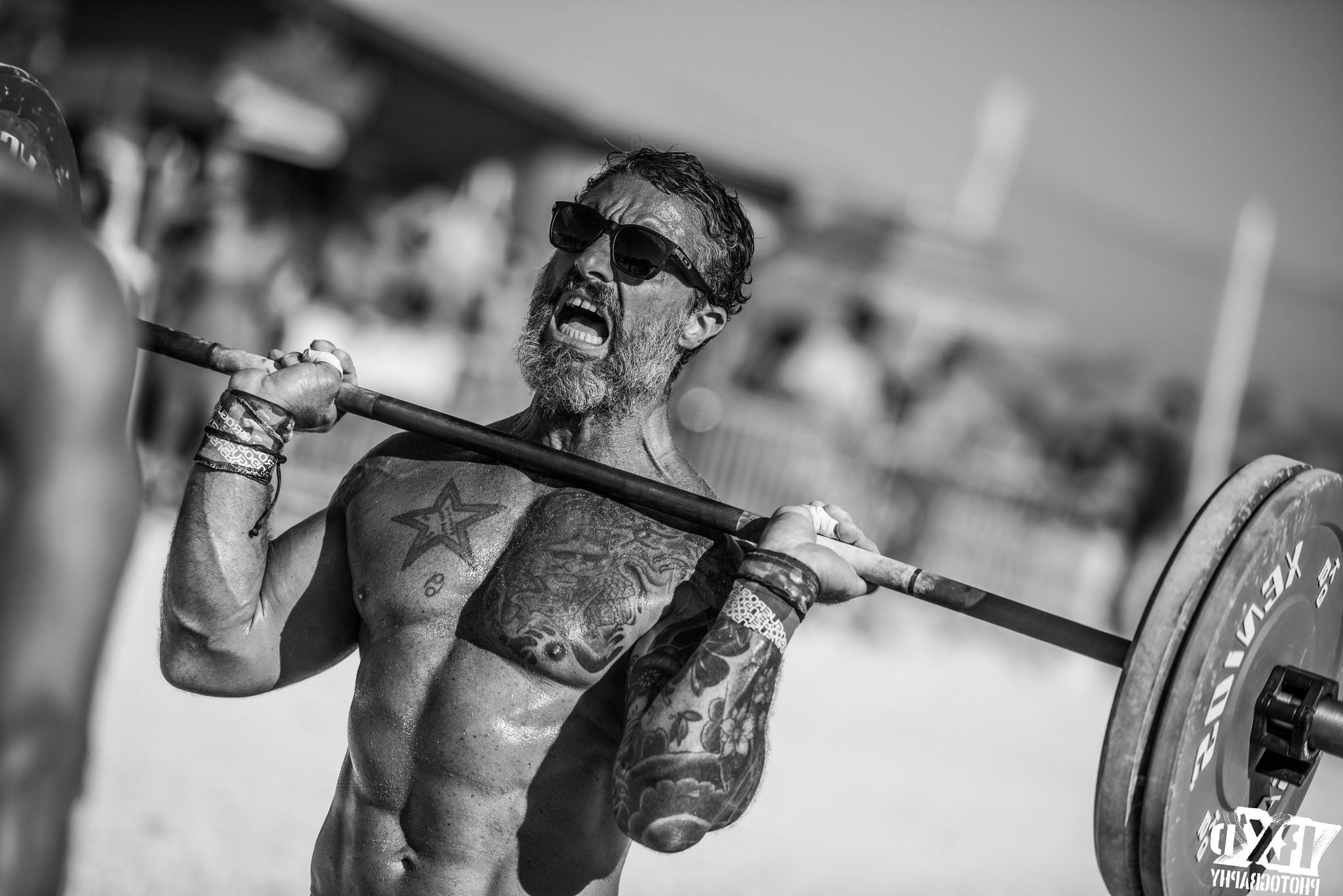 Image of Barbell strongman