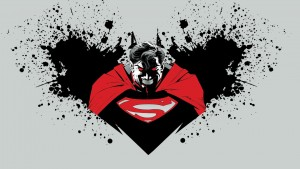 Best image of Batman vs Superman logo