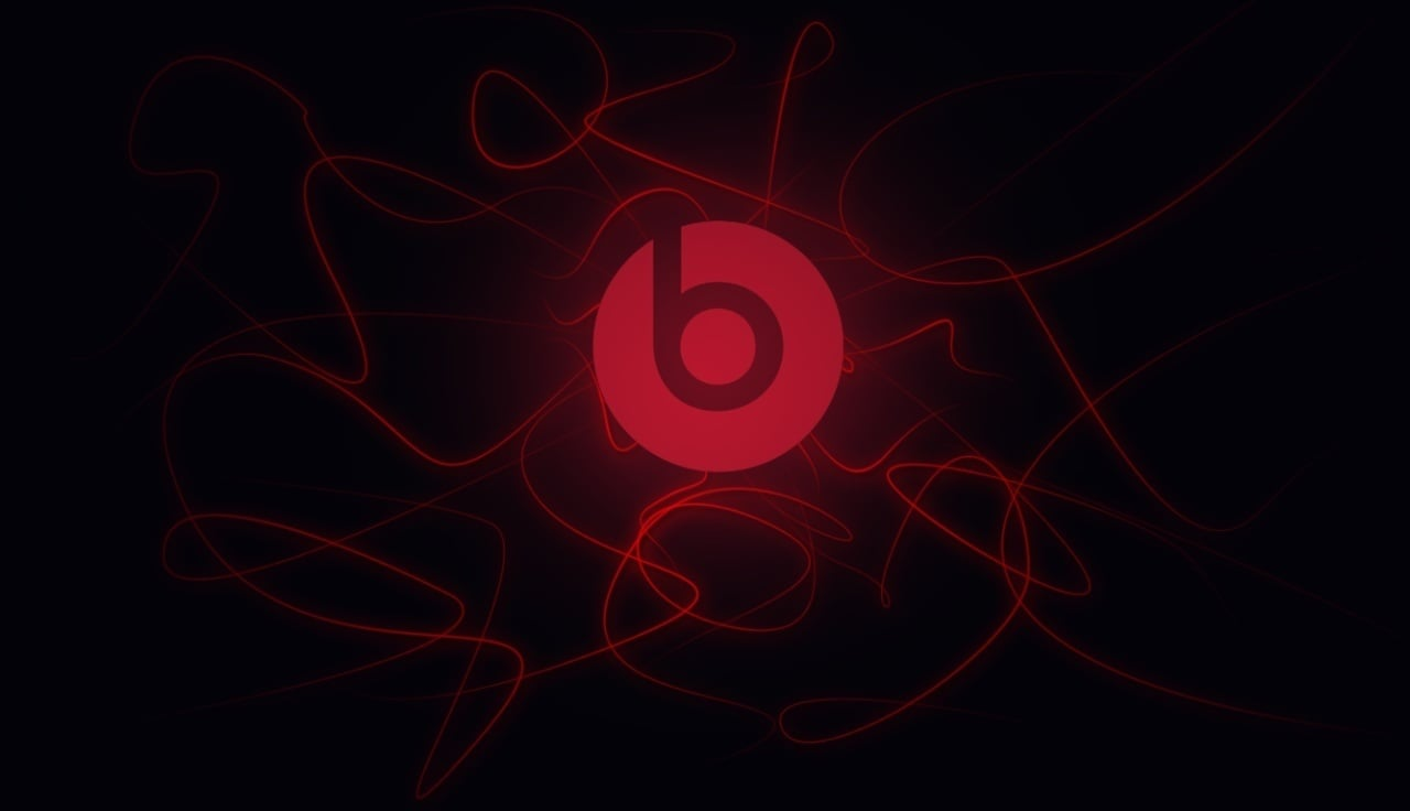 Beats By Dr Dre black red logo High Quality wallpapers