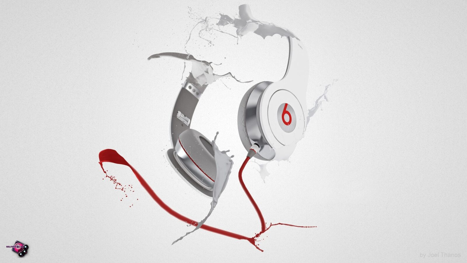 Beats By Dr Dre headphones background