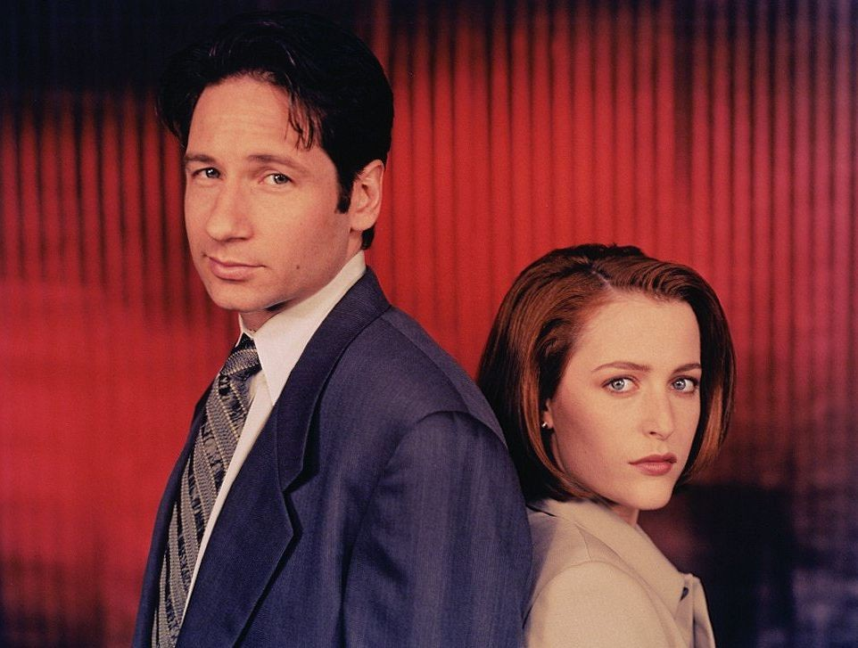 David William Duchovny The X Files High Quality wallpapers
