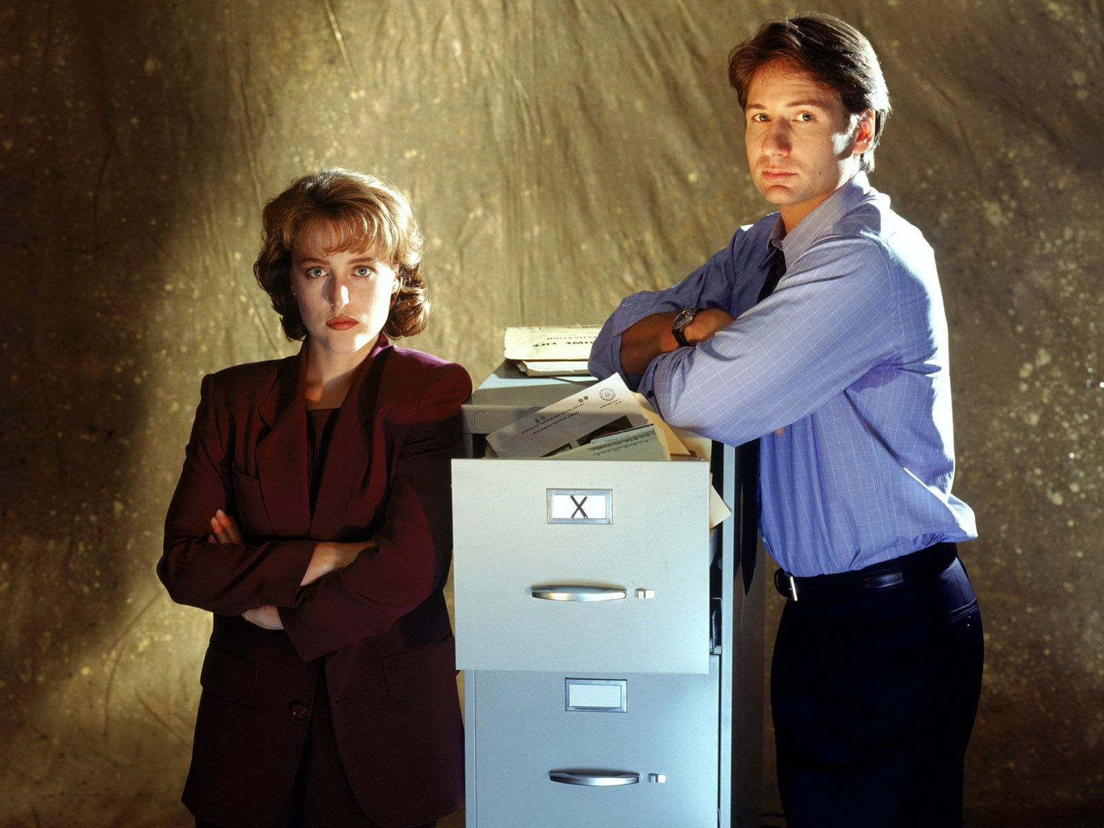 David Duchovny as Fox Mulder The X Files full HD image