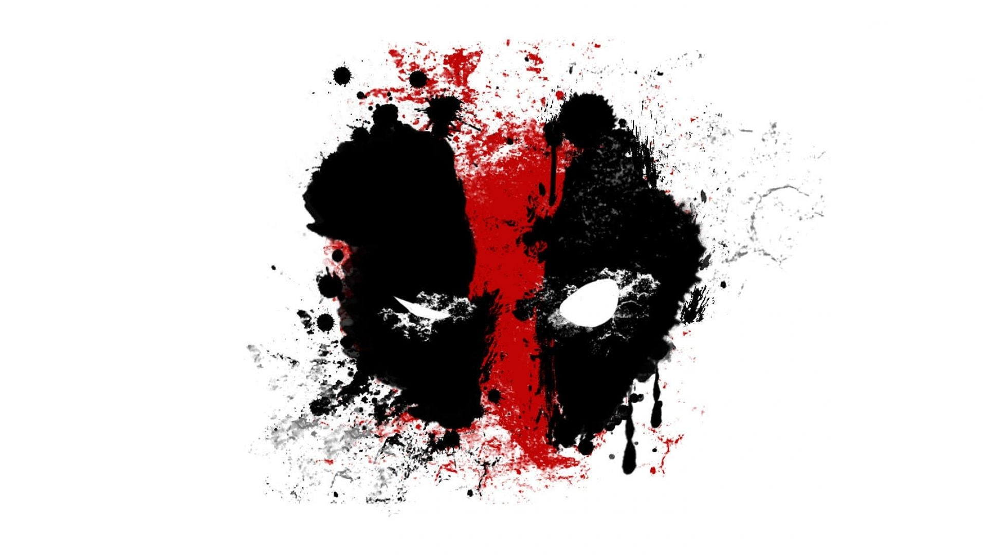 Image of Deadpool abstract