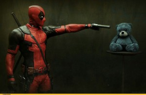 Deadpool and bear pictures