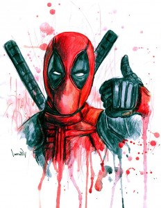 Deadpool fanart 2016