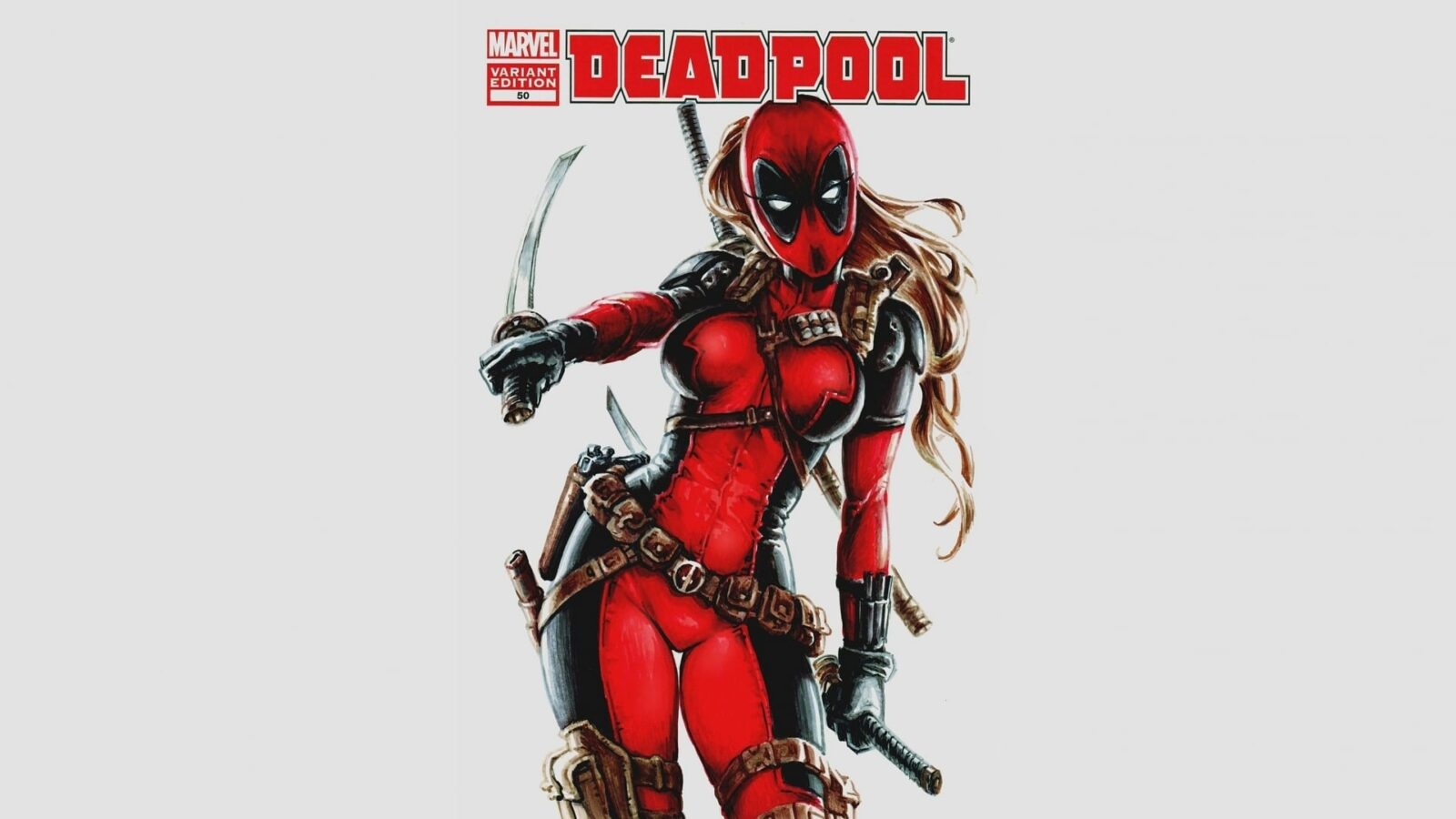 Deadpool girl HD pic