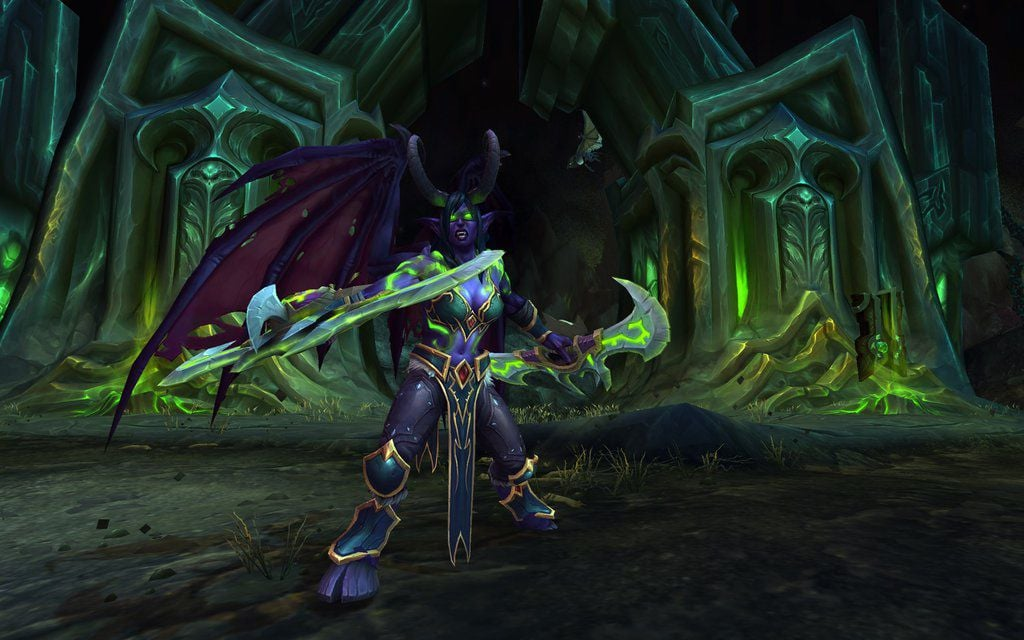 World of Warcraft Legion Demon Hunter 2016