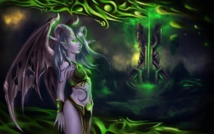 World of Warcraft Legion Best Demon Hunter HD wallpaper