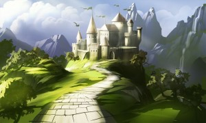 Fairy Castle HD 1080p wallpaper